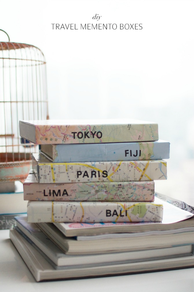travel memento boxes
