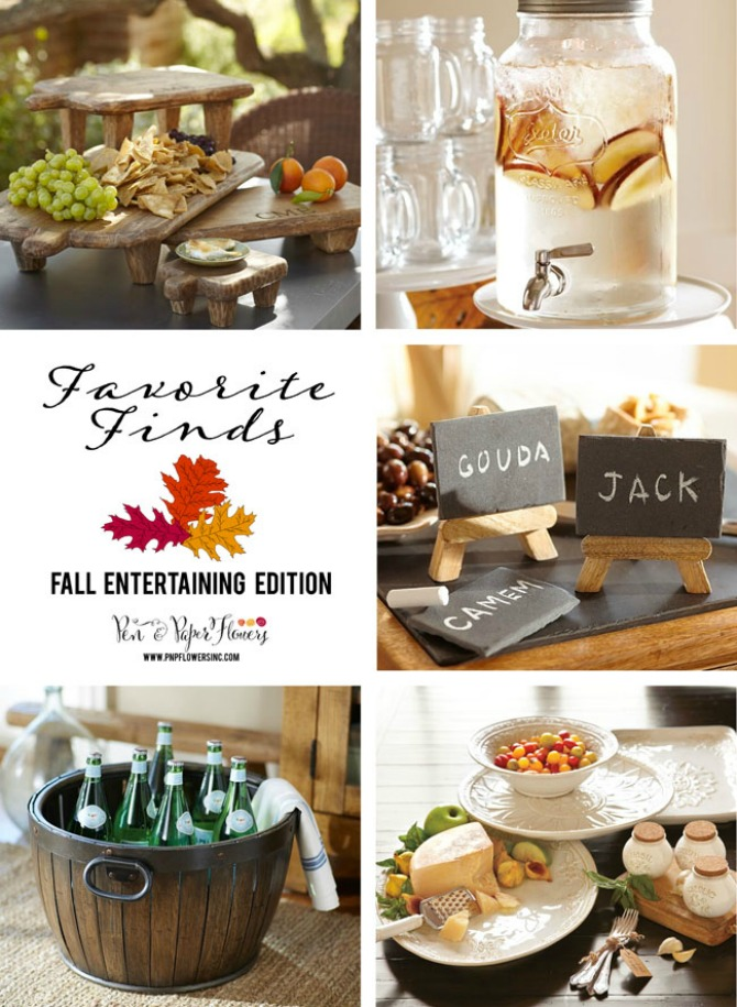 Fall Entertaining Serveware