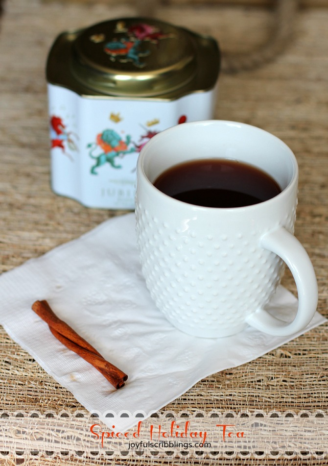 spiced holiday tea