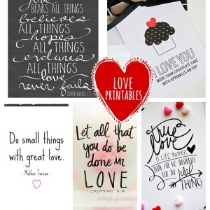 Love printable quotes