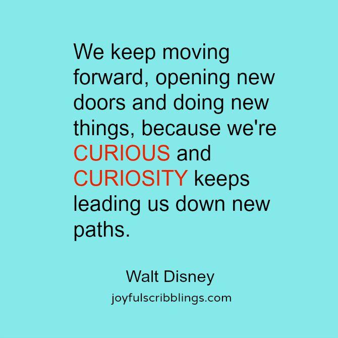 Curiosity quote
