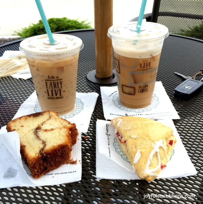Caribou Coffee and Pastries