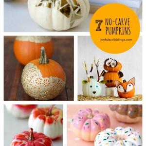 7 No-Carve Pumpkins