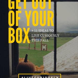 Get Out of Your Box Fall Ideas
