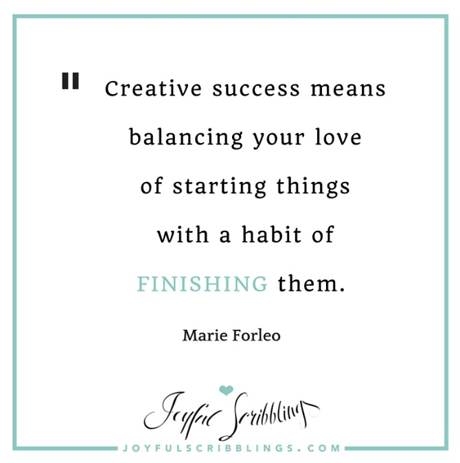 Marie Forleo Creative Success Quote