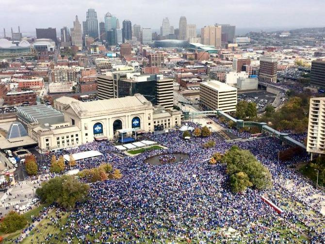 KC Royal's parade