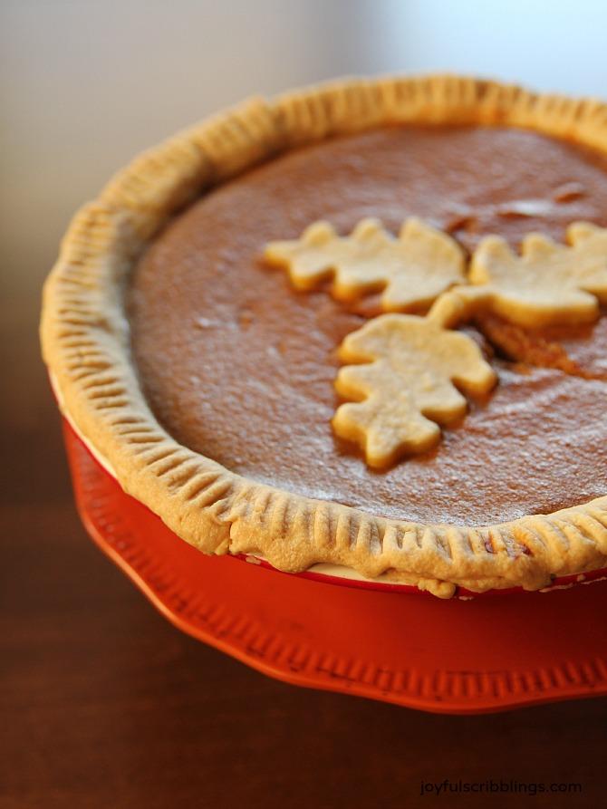 the best pumpkin pie