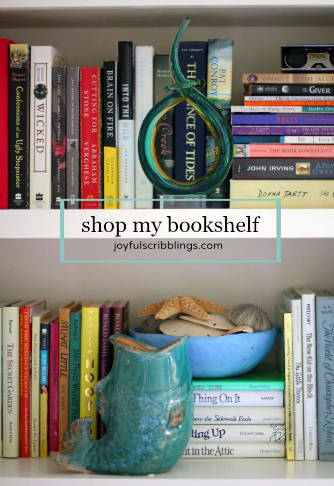 shop my bookshelf