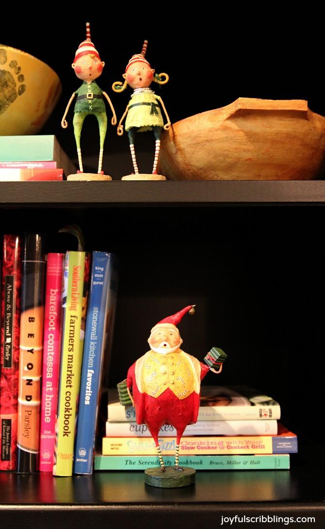 Lori Mitchell Christmas figurines