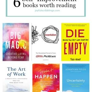 6 self-improvement books worth reading