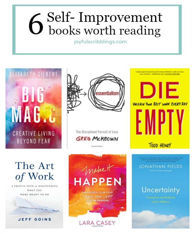 6 self-improvement books worth reading