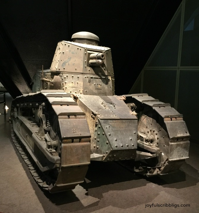 WWI tank at KC WWI Museum