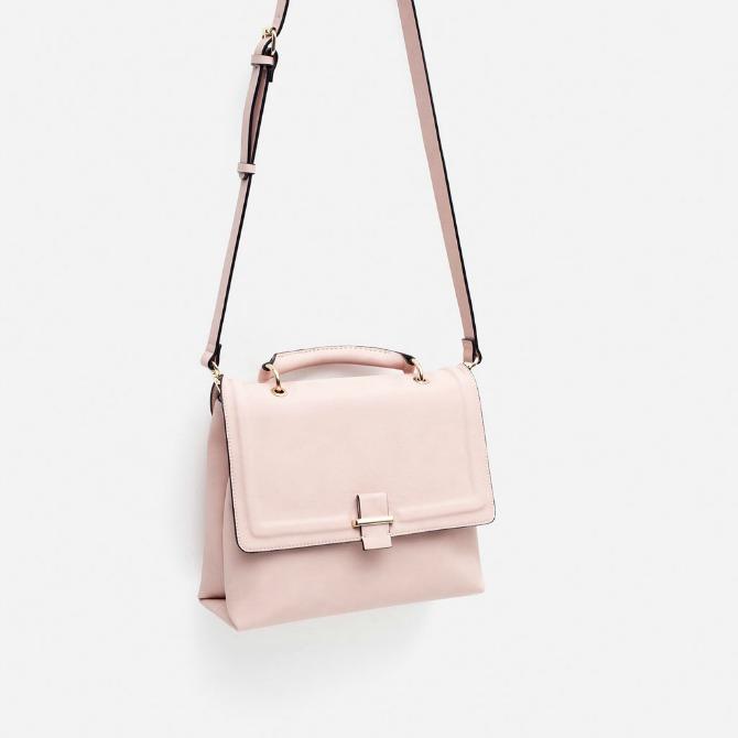 Zara Pale Pink Purse