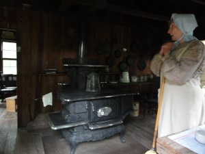 Cracker Cooking on the Dudley Farm Historic State Park.