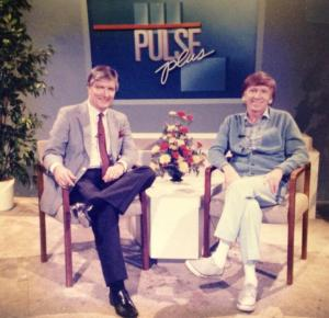 Jack interviewing Gilligan over 20 years ago.