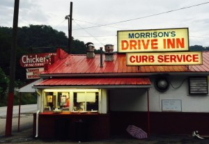 Morrison's Drive-In, Stollings, West Virginia.