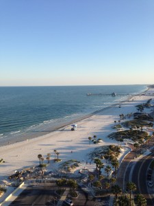 Morning on Clearwater Beach