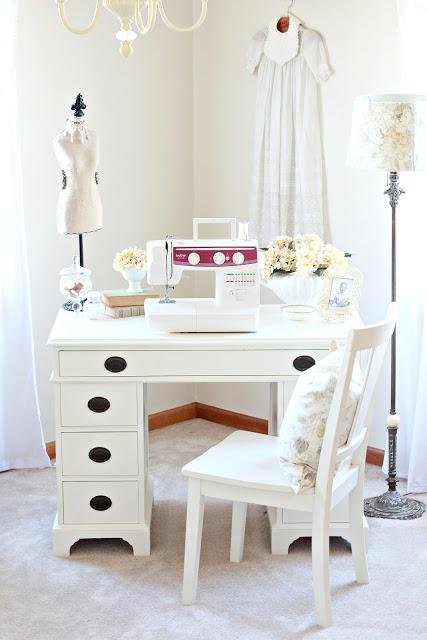 Antique desk makeover 2