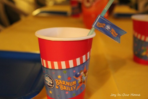 Circus-themed birthday party at www.joyinourhome.com