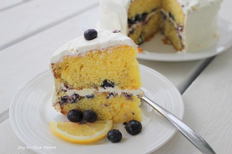 Blueberry Citrus Cake from www.joyinourhome.com