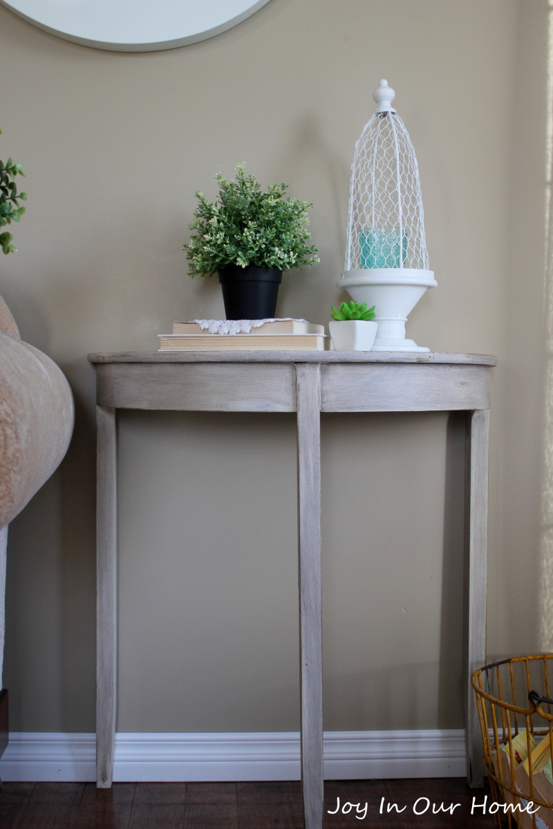 Country Chic Table Makeover
