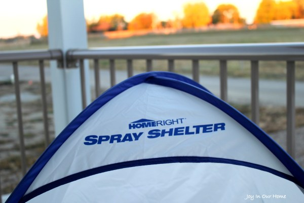 Home Right Spray Shelter