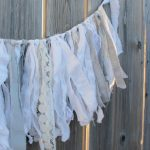 Monthly Diy Challenge How To Make A Fabric And Lace Farmhouse Garland Joy In Our Home