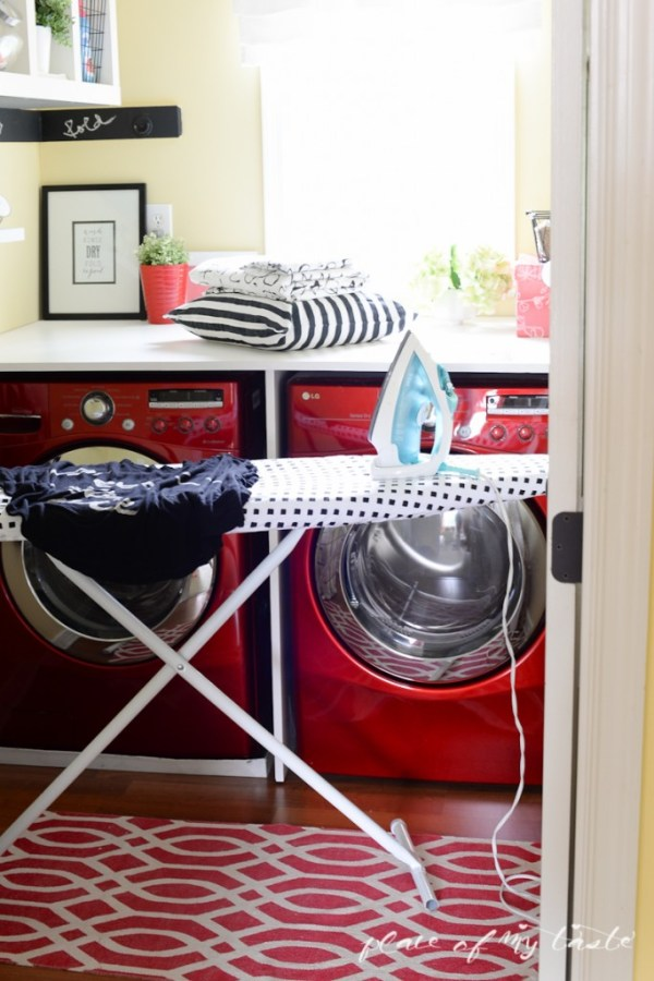 One Room Challenge Makeover at www.joyinourhome.com A 6 week Laundry Room Makeover