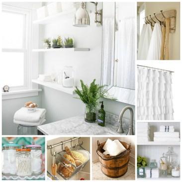 One Room Challenge: A Bathroom Makeover & A Plan at www.joyinourhome.com