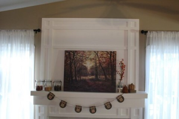 Our Fireplace Transformation at www.joyinourhome.com