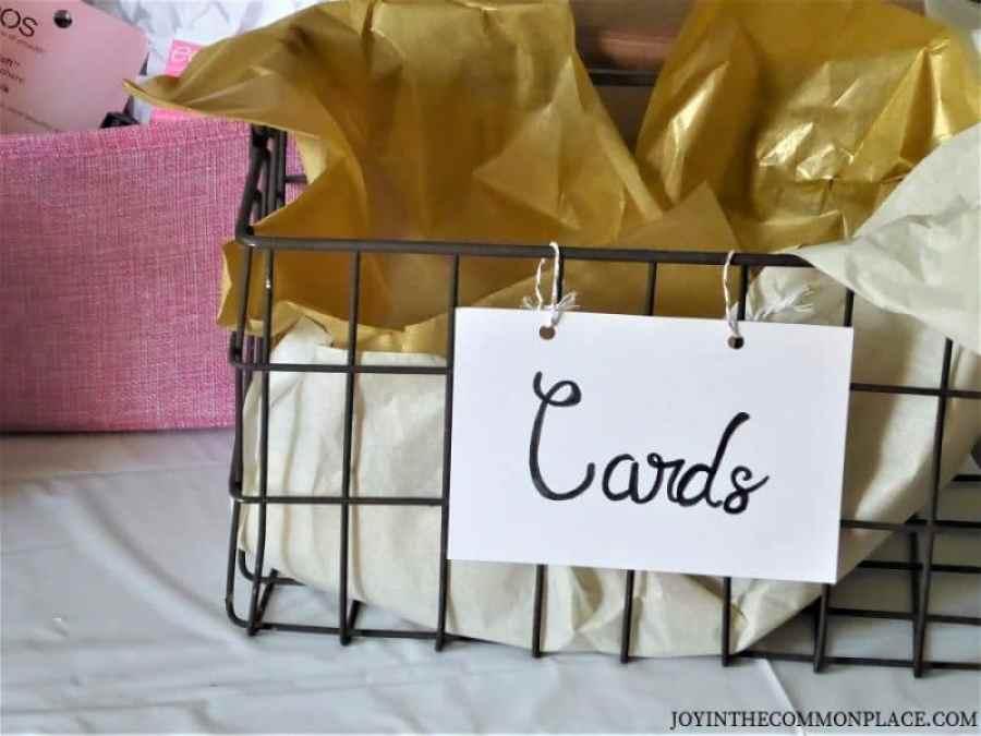 Cards Basket