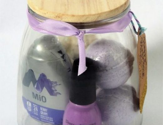 Purple Themed Jar