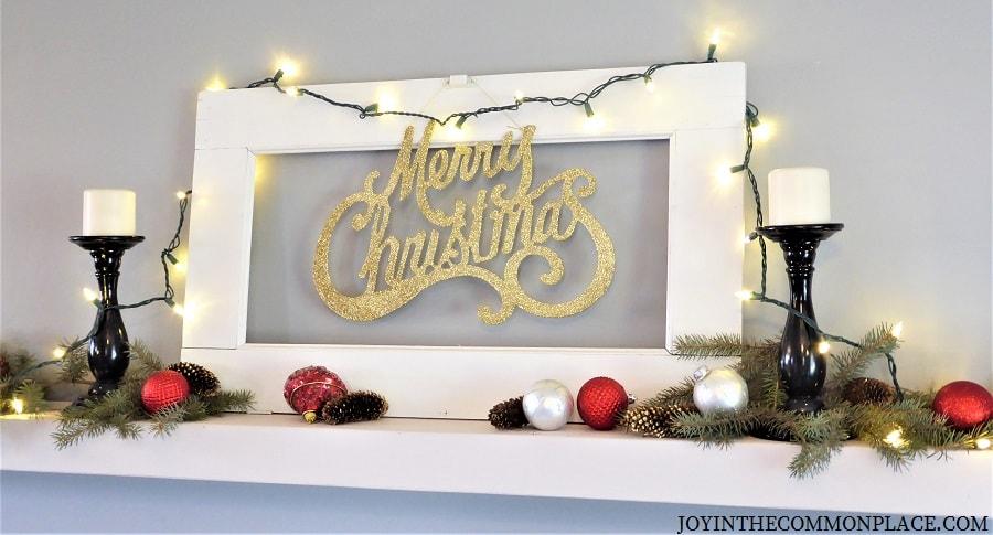 Christmas Wall Shelf