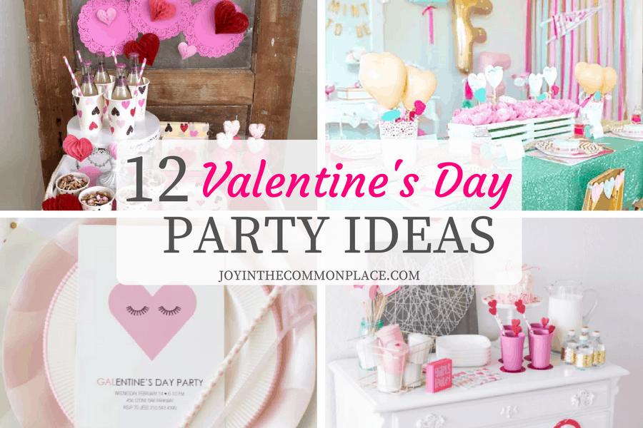 12 Valentineu0027s Day Party Ideas