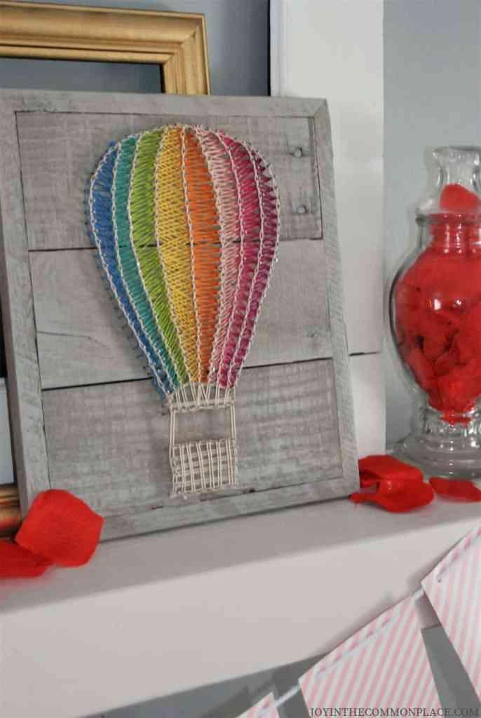 Hot Air Balloon Sign