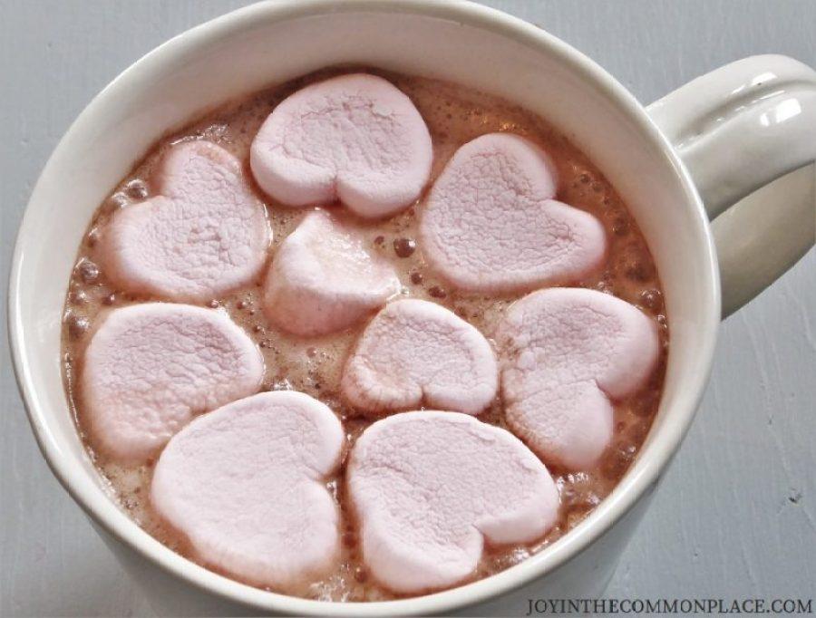 Hot Chocolate & Heart Marshmallows