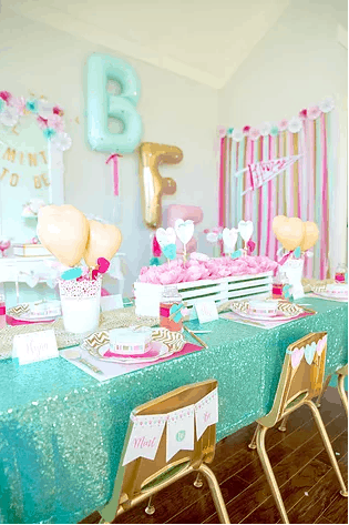 Mint to Be BFF's Galentine's Party