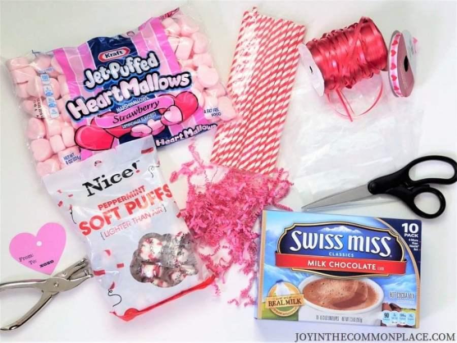 Valentine's Day Treat Bag Supplies