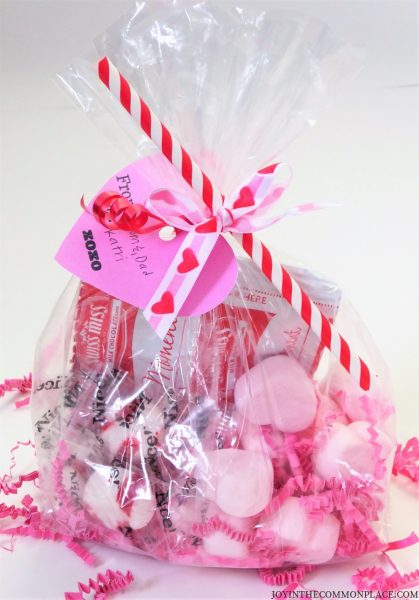 Valentine's Day Hot Chocolate Treat Bag or Party Favor ... |Hot Chocolate Treat Bags