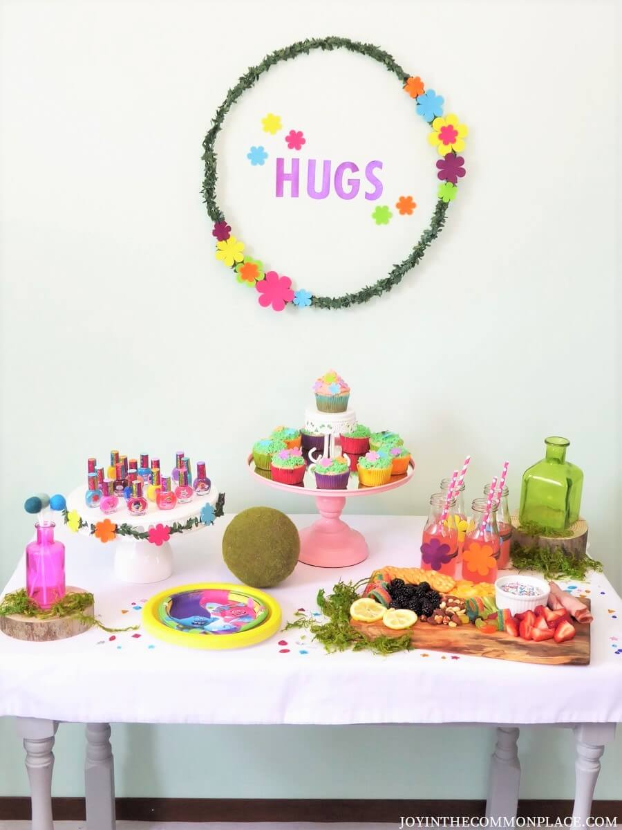 Trolls Spa Party for Girls