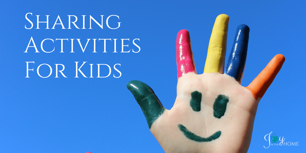 Sharing Activities For Kids