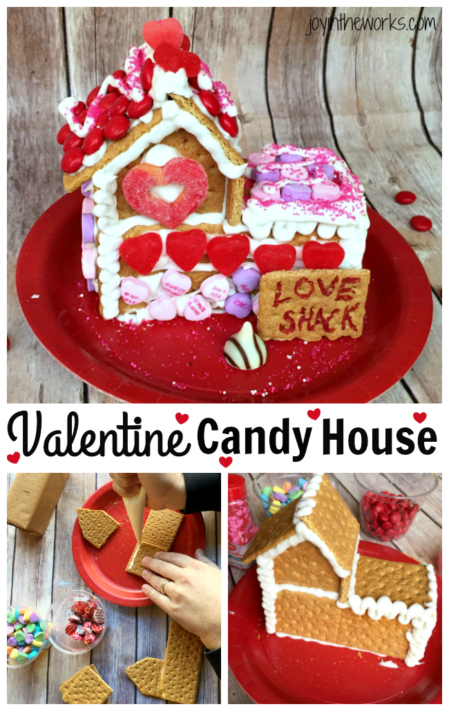 Love Shack A Valentine Candy House Joy In The Works