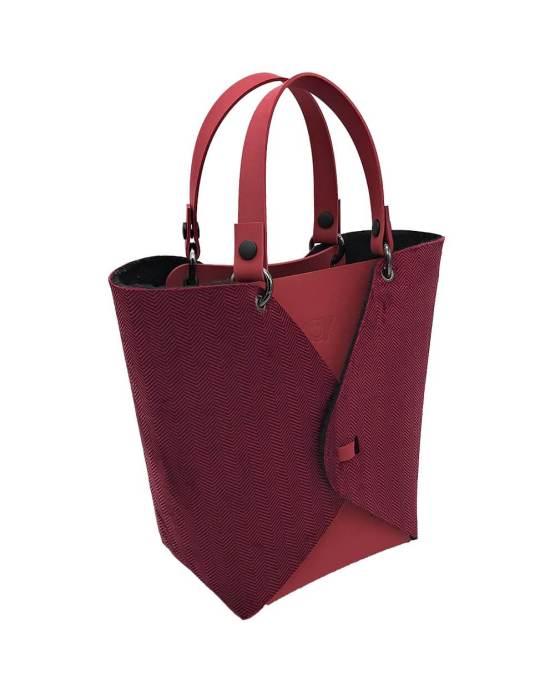 Joy-borse-componibili-vegan-made-in-italy-alessia-rosso-louisiana-rosso-material