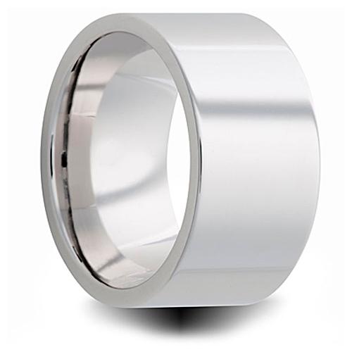 Cobalt 10mm Polished Pipe Cut Wedding Band 10C101 Joy
