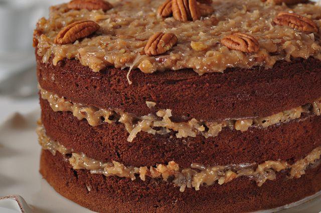 Three Layer Caramel Cake