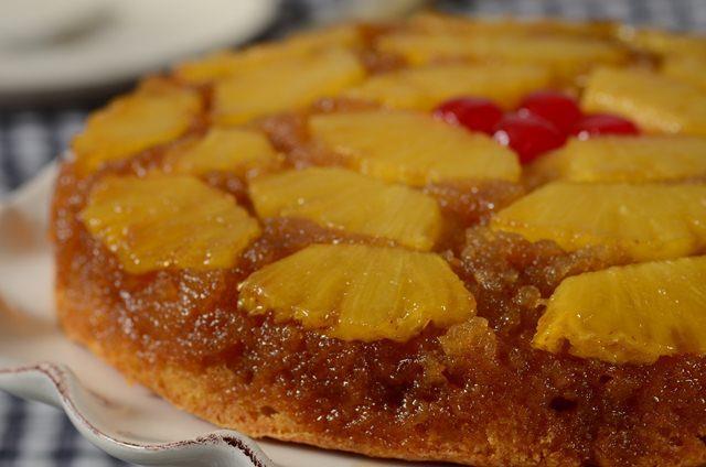 Lemon Upside Pineapple Down Cake