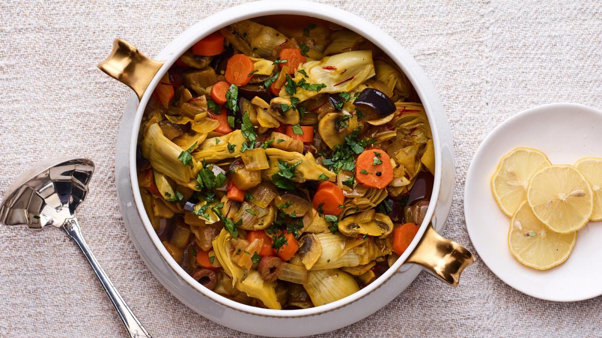 Vegetables Barigoule Jamie Geller