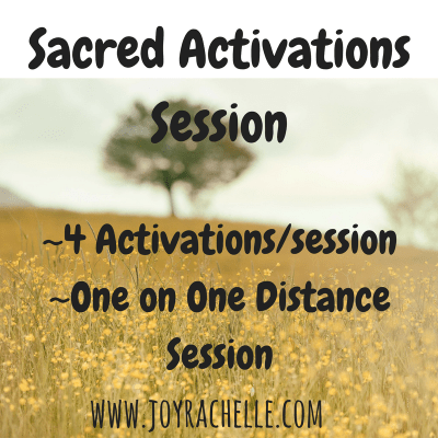 Sacred Activation Session [4 Activations]