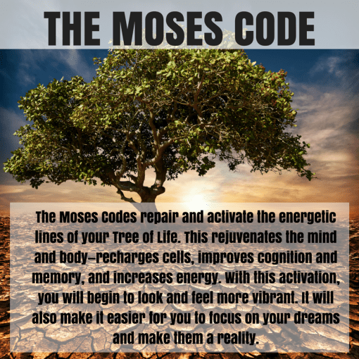 Moses Code Sacred Activation