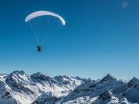 Paragliding Winter Davos